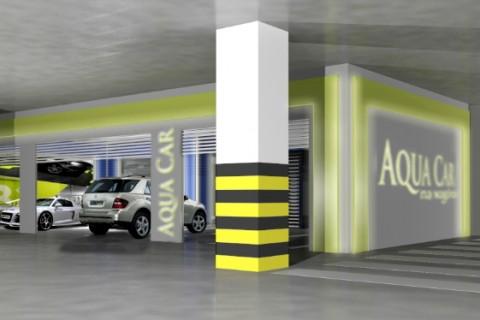 Aqua Car C.H. Riviera – myjnia samochodowa w garażu podziemnym